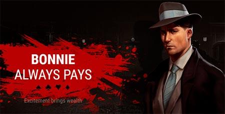 Bonnie always pays